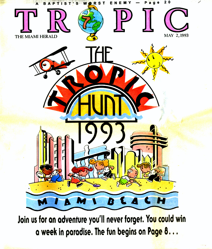 1993 Tropic Hunt Cover Image