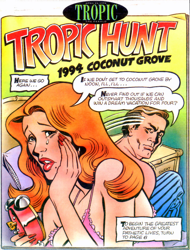 1994 Tropic Hunt Cover Image