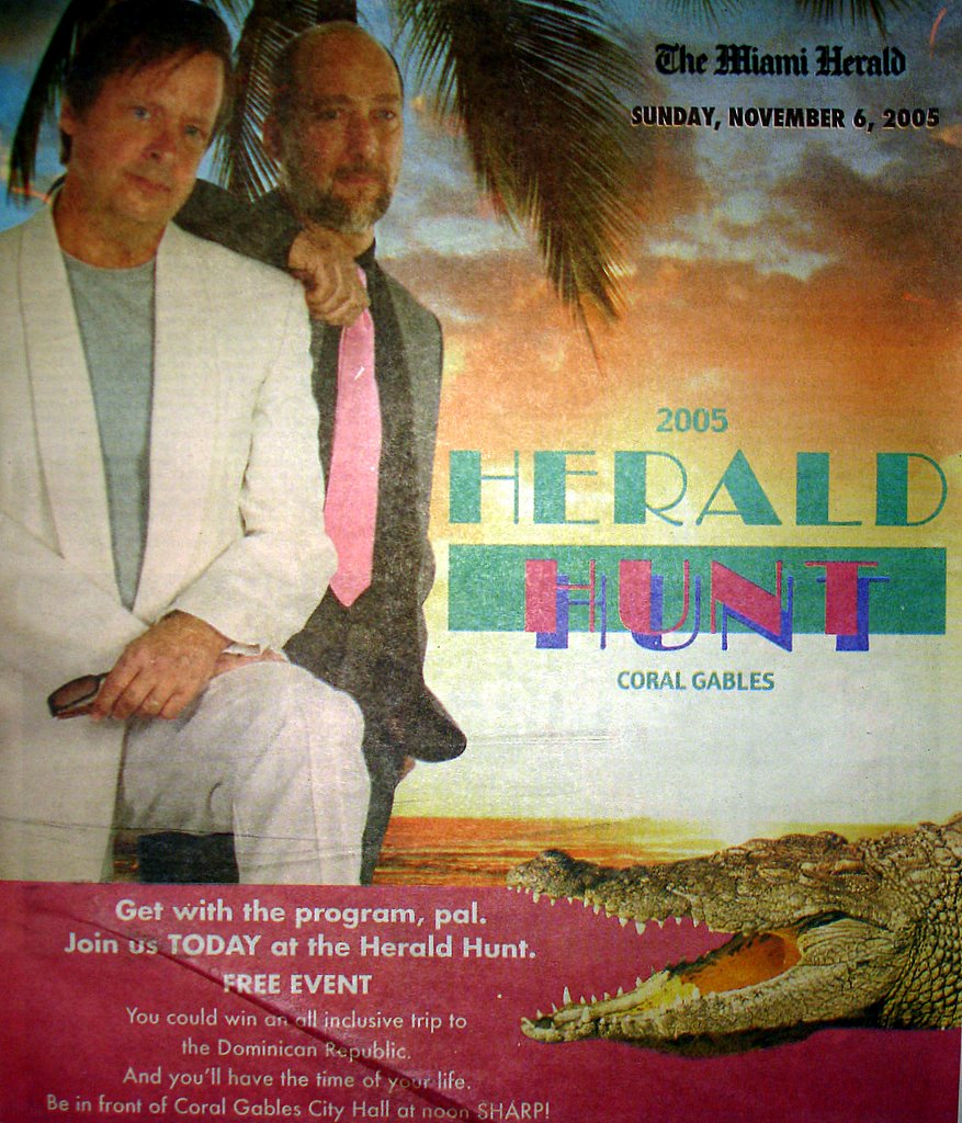 2005 Herald Hunt Cover Image