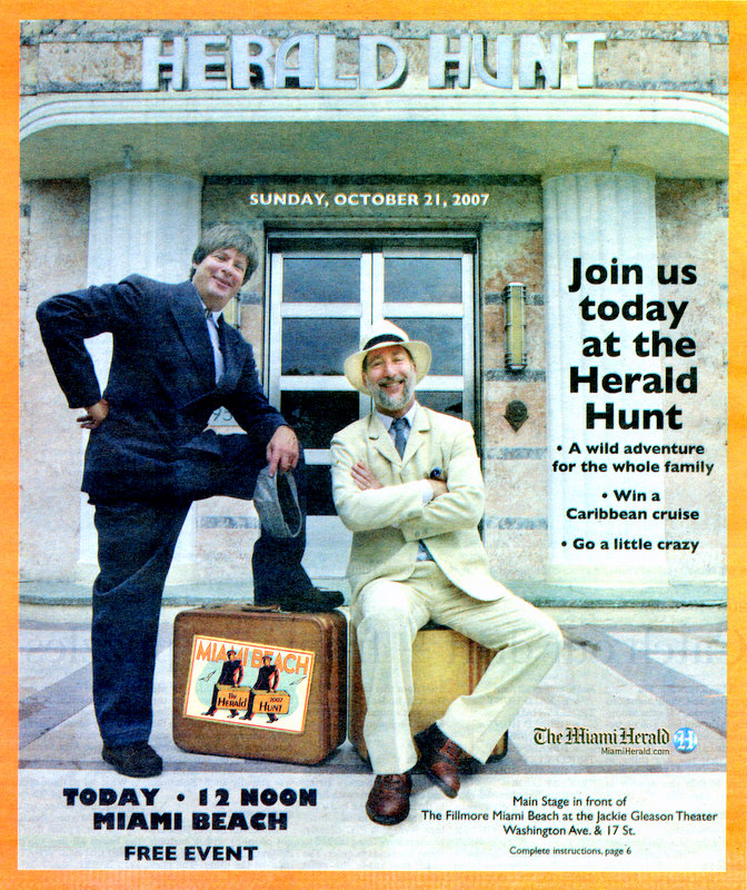 2007 Herald Hunt Cover Image
