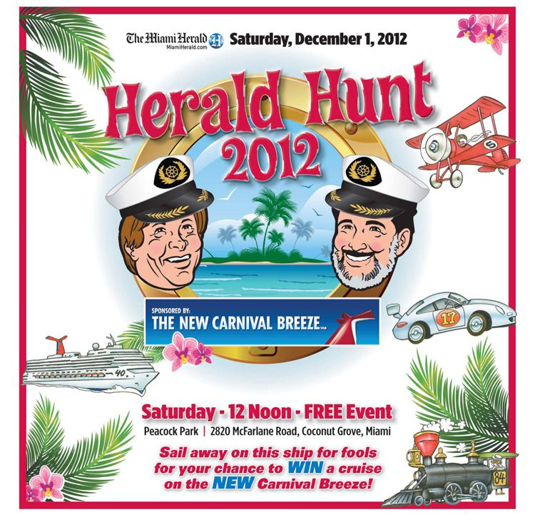 2012 Herald Hunt Cover Image